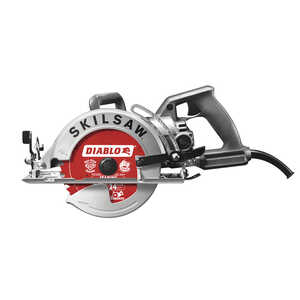 SKILSAW  Diablo  120 volts 15 amps Corded  Worm Drive Circular Saw  5300 rpm 7-1/4 in.
