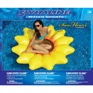 Swimline  Yellow  Yellow  Inflatable Pool Float  Vinyl