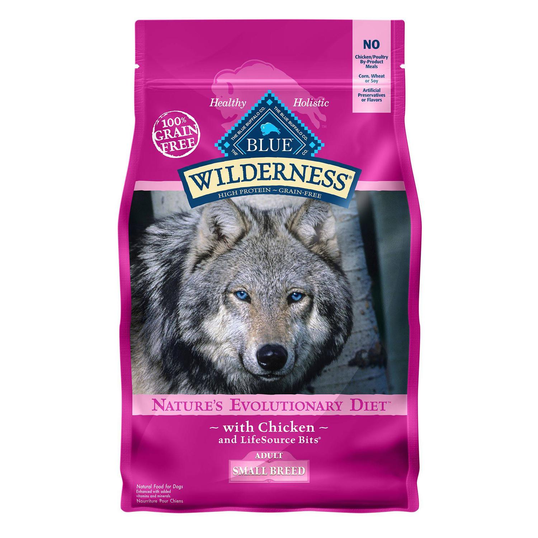 Blue Wilderness Adult Dog Food Grain Free Natural Chicken