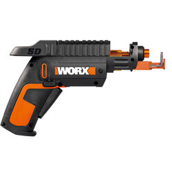 Worx  1/4 in. Cordless  Powered Screwdriver with Bit Set  Kit  4 volt 230 rpm