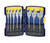 Irwin  Speedbor  Carbon Steel  Spade Bit Set  8 pc.