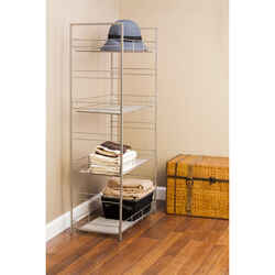 Grayline  41 in. H x 21-11/16 in. W x 11 in. D Steel  Shelving Unit