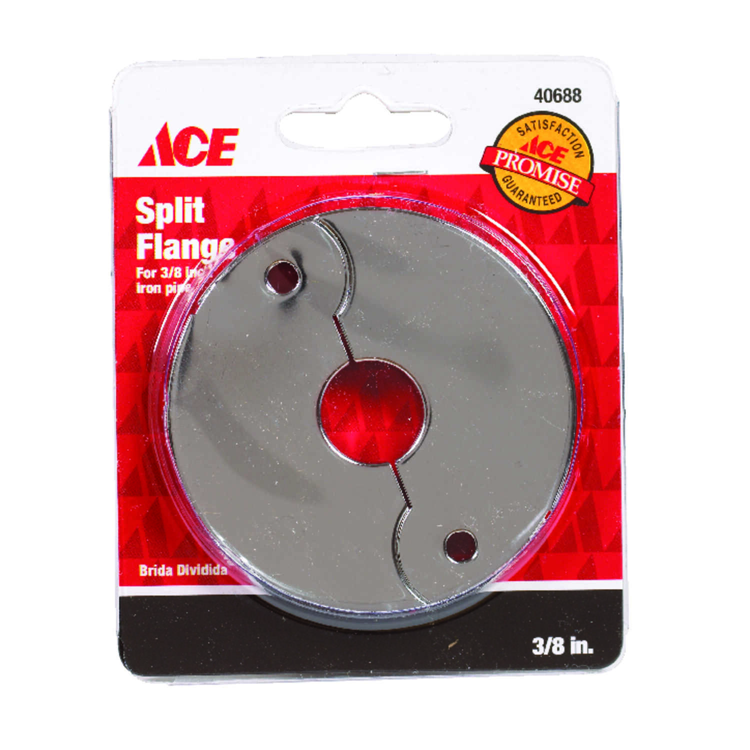 Ace  3/8 in. Split Flange  Steel