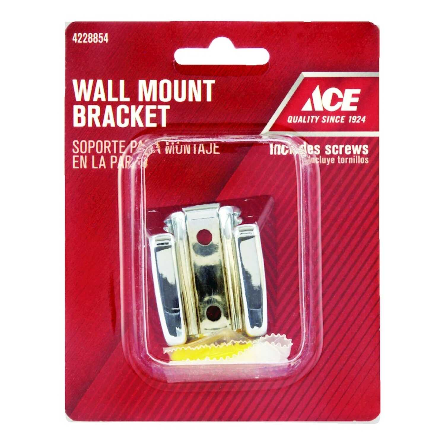 Ace  Chrome  Chrome  Shower Wall Mount Bracket