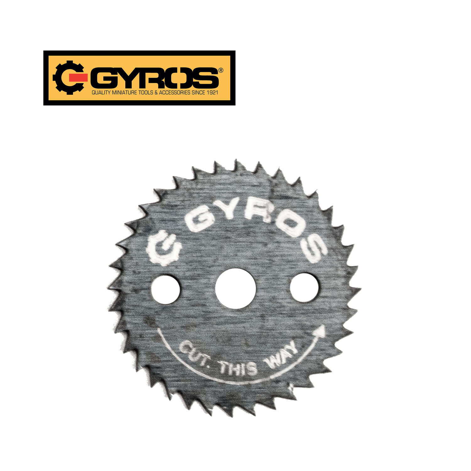 Gyros Tools  7/8 in.  Steel  Circular Power Saw Blades  Ripsaw Blade  1/8 in.  36 teeth 1 pk 0.021 i