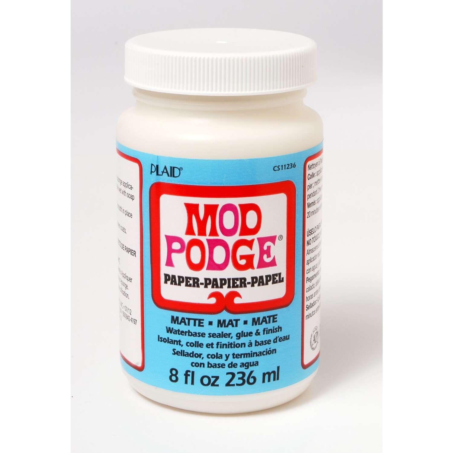 Plaid  Mod Podge  High Strength  Glue  Decoupage Paper  8 oz.