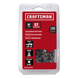 Craftsman  16  57 links Chainsaw Chain