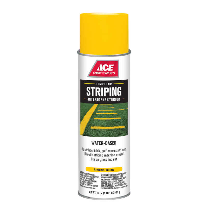 Ace  Striper  Yellow  Athletic Field Line Marker  17 oz.