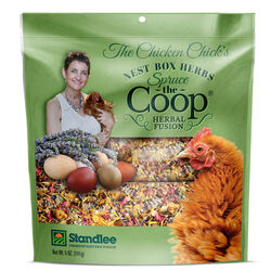 Standlee  Spruce The Coop  5 oz. Assorted Material  Chicken Coop Moisture and Ammonia Odor Absorbent