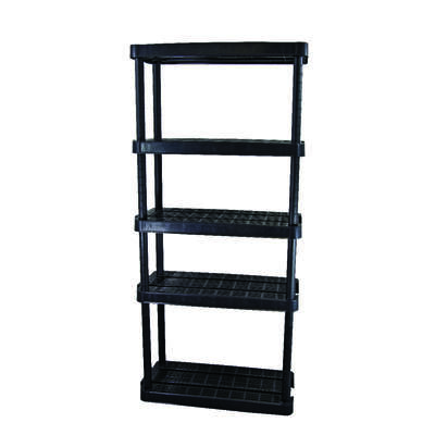 Maxit 72 in. H x 32 in. W x 14 in. D Resin Shelving Unit