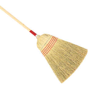 Harper  11 in. W Stiff  Corn  Broom