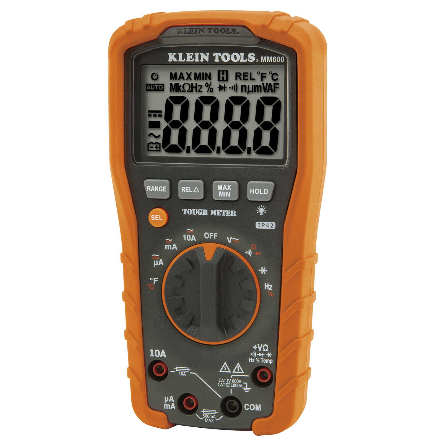 Klein Tools  Tough Meter  Automatic  Digital  Multimeter