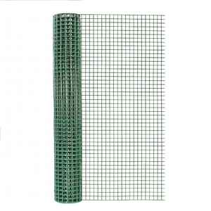 Garden Zone  24 in. W x 5 ft. L Green  Steel  Hardware Cloth