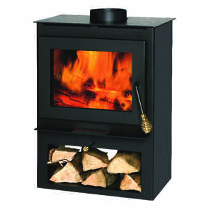 Summers Heat  60000 BTU 1200 sq. ft. Wood Stove