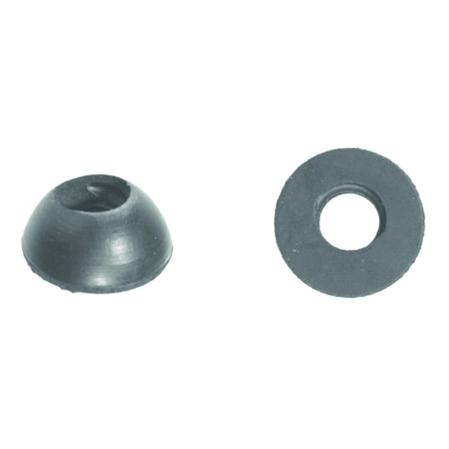 Danco  3/8 in. Dia. Rubber  Washer  5 pk
