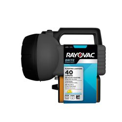Rayovac Brite Essentials 40 lumens Black LED Floating Lantern