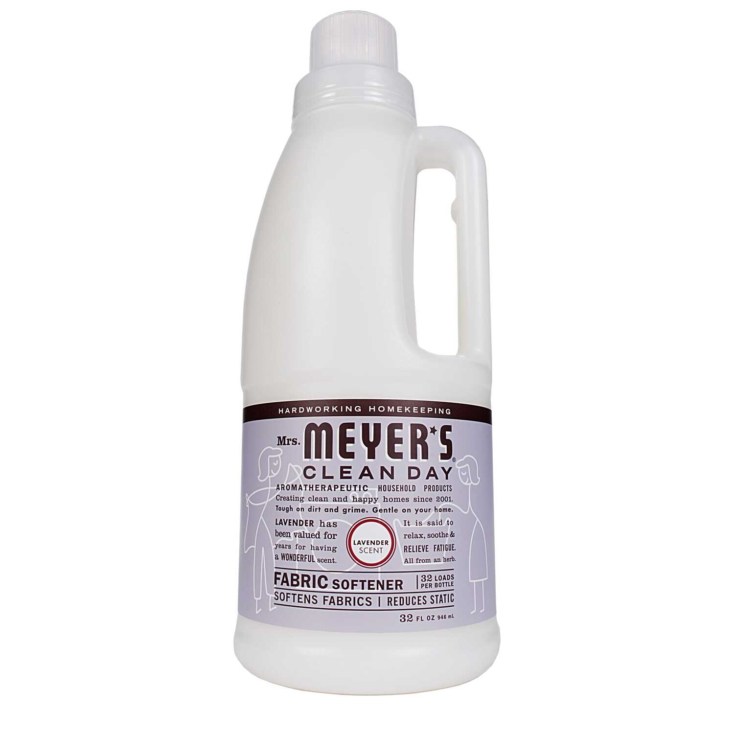 Mrs. Meyer's  Clean Day  Lavender Scent Fabric Softener  Liquid  32 oz.