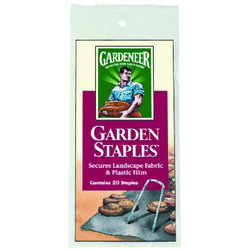 Easy Gardener  1-1/2 in. W x 4-1/2 in. L Garden  Staples  20 pk