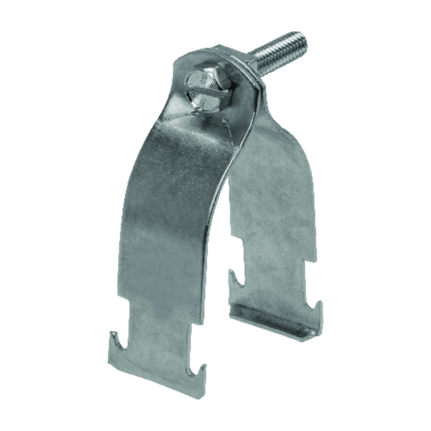 Unistrut  1-1/2 in. Steel  Conduit Clamp  1 pk