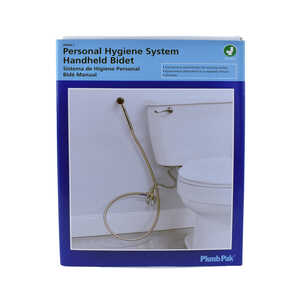 Plumb Pak  High Efficiency Universal  Bidet