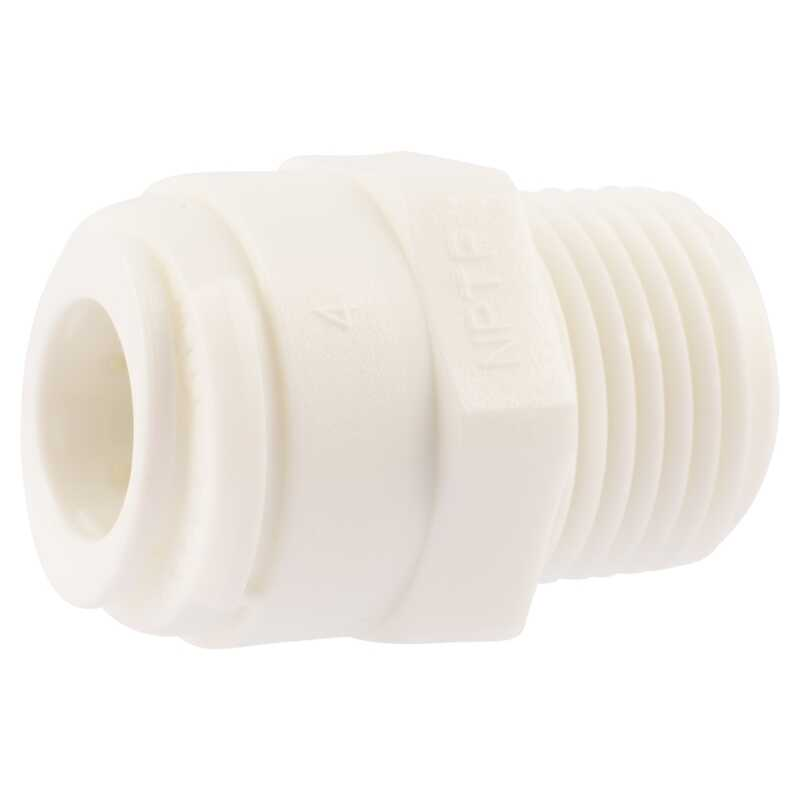 SharkBite  Push to Connect 3/8 in. 3/8 in. Dia. MIP  Threaded Adapter