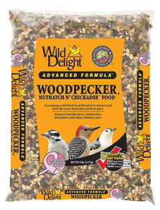 Wild Delight  Woodpecker, Nuthatch & Chickadee  Wild Bird Food  Sunflower Seeds  5 lb.