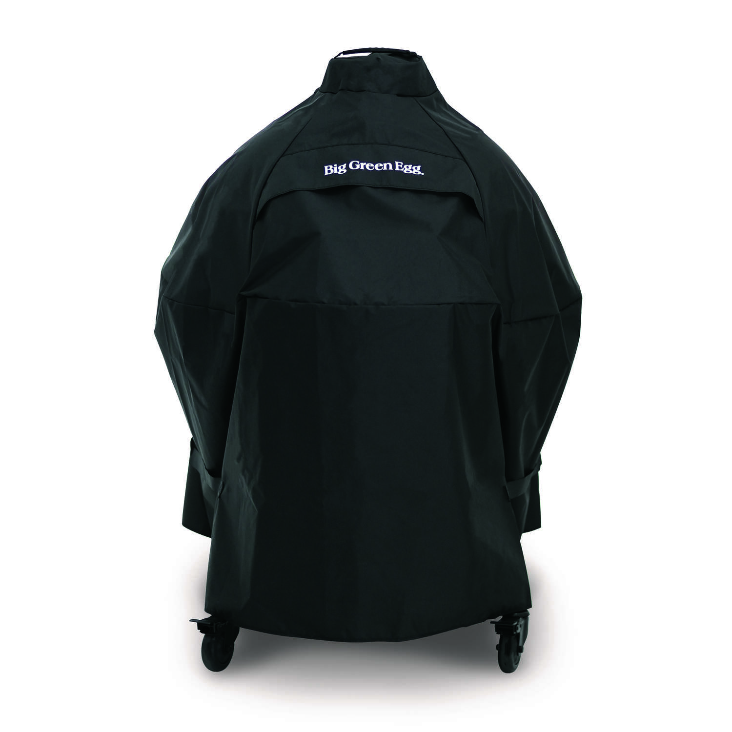 Big Green Egg  Black  Grill Cover  For XLarge and Large EGGs in intEGGrated Nest Han 10 in. W x 13 i