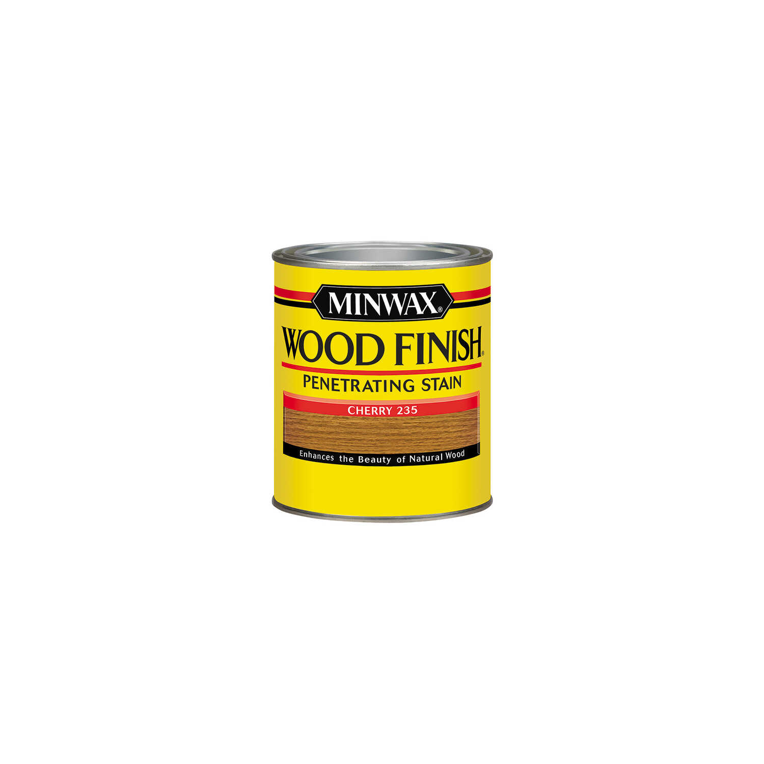 Minwax  Wood Finish  Semi-Transparent  Cherry  Oil-Based  Wood Stain  0.5 pt.