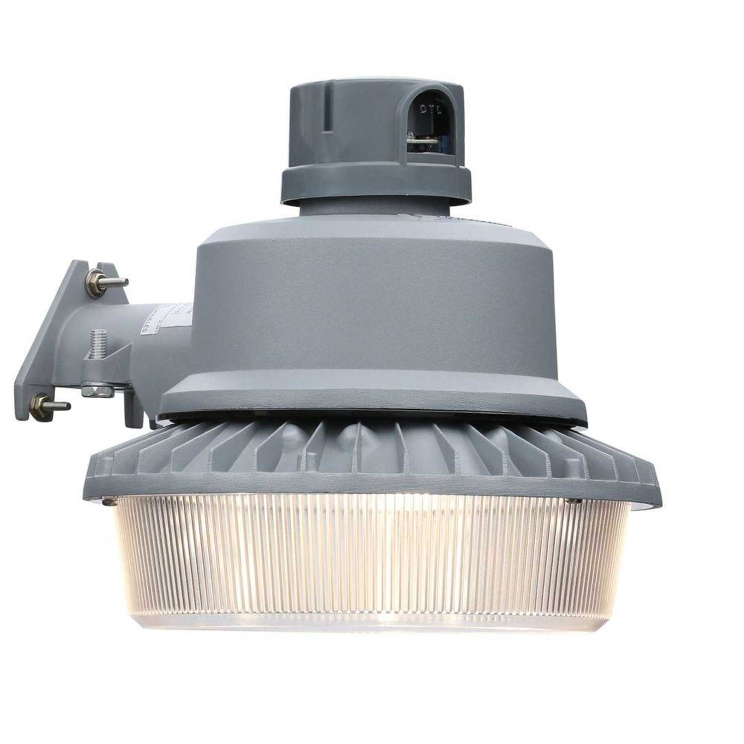 Lithonia Lighting  Dusk to Dawn  Hardwired  LED  Gray  Area Light