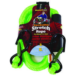 Cordzilla  Secureline  Green  Bungee Cord  3 ft. L x 8 mm  400 lb. 1 pk