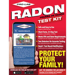 Pro-Lab Radon Gas Test Kit