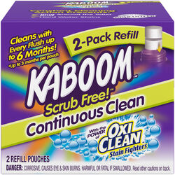 Kaboom  Scrub Free  Fresh Scent Toilet Bowl Cleaner  2 oz. Tablet