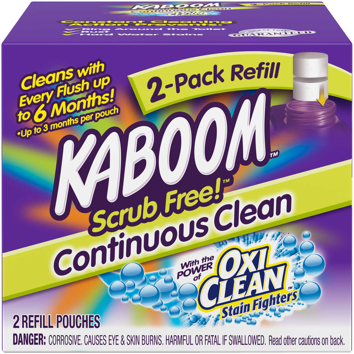 Kaboom Scrub Free Fresh Scent Toilet Bowl Cleaner 2 oz  Tablet - Ace