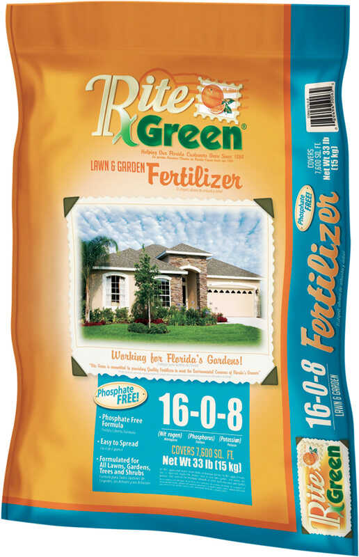 Sunniland  Pro Scape  16-0-8  Lawn Fertilizer  For All Grass Types