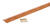 M-D 0.38 in. H x 72 in. L Prefinished Brown Aluminum Carpet Trim