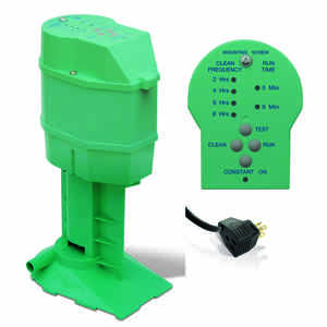 Phoenix  11 in. H x 6 in. W Metal  Green  Evaporative Cooler Pump