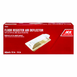 Ace Plastic Air Deflector Clear