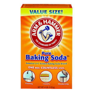 Arm & Hammer  Baking Soda  No Scent Cooler Cleaner and Deodorizer  64 oz. Powder
