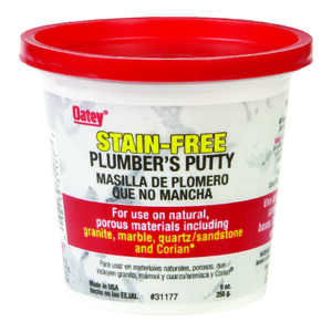 Oatey  White  Plumbers Putty  9 oz.