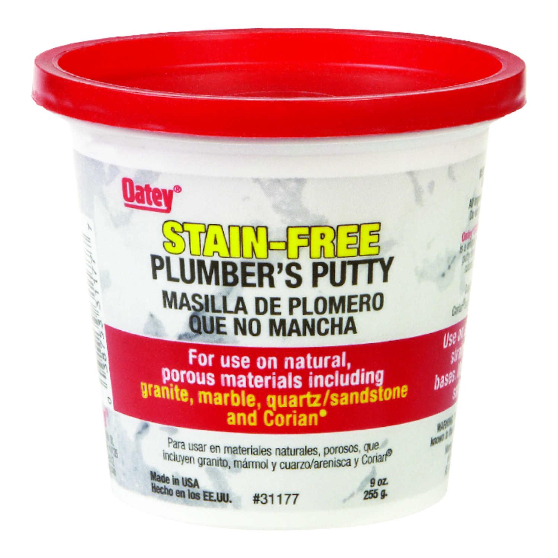 Oatey White Plumbers Putty 9 oz  - Ace Hardware