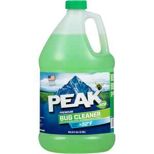 Peak  Premium Bug Cleaner  Windshield Washer Fluid  Liquid  1 gal.