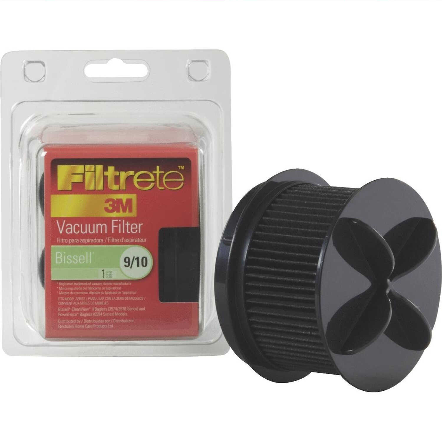 3M  Filtrete  Vacuum Filter  For Bissell 9-10-12 1 pk