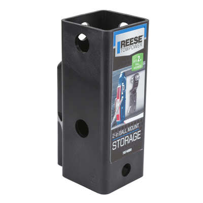 Reese  Towpower  Ball Mount and Storage Unit  1 pk