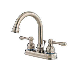 Pfister  Wayland  Two Handle  Lavatory Faucet  4 in. Brushed Nickel