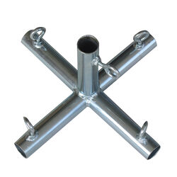 AHC  3/4 in. Round   x 3/4 in. Dia. x 10 in. L Galvanized  Carbon Steel  Connector