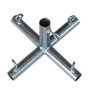 AHC  3/4 in. Round   x 3/4 in. Dia. Carbon Steel  Connector