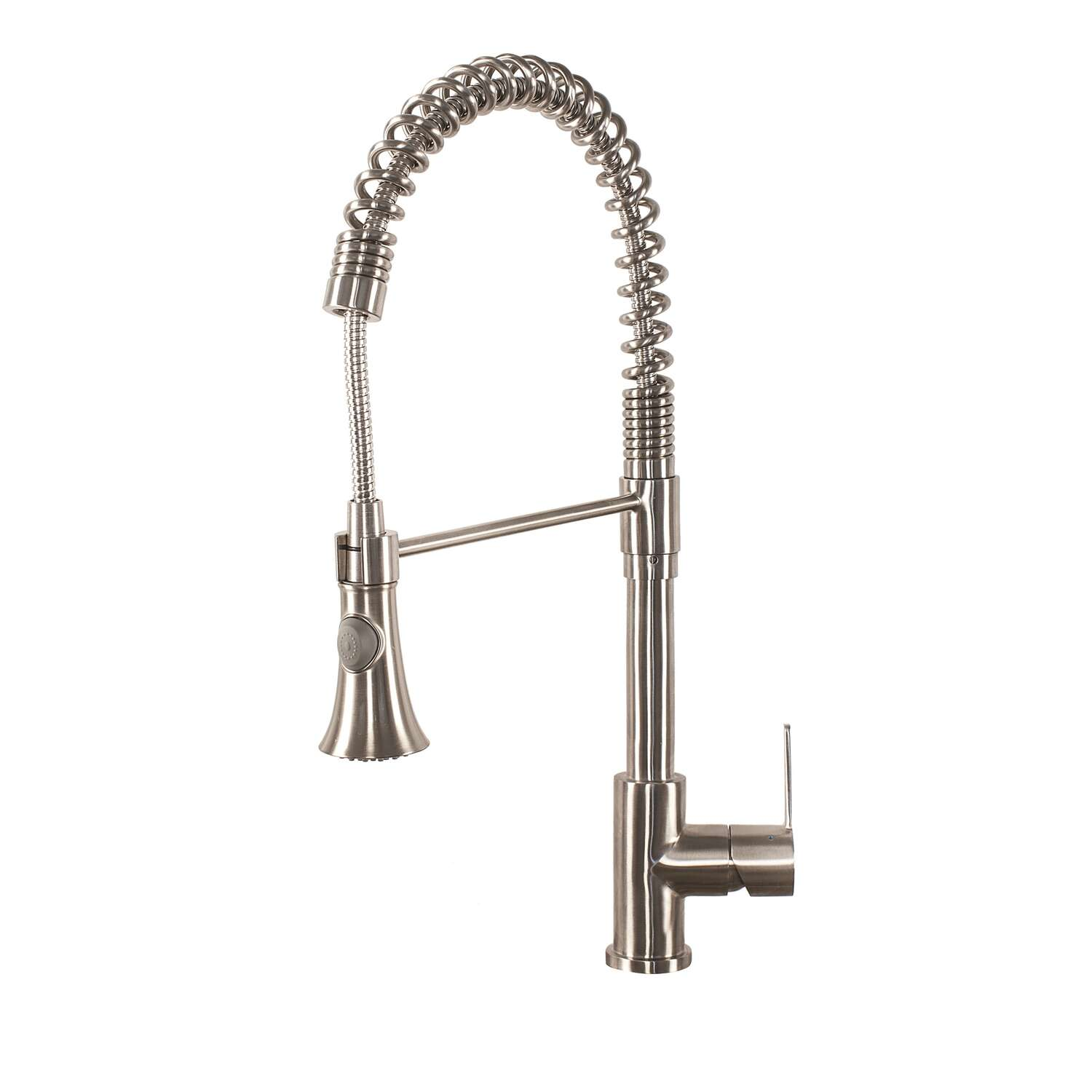Franke  Bern  One Handle  Stainless Steel  Pulldown Kitchen Faucet