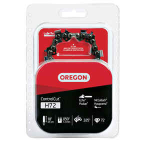 Oregon  18 in. 72 links Chainsaw Chain