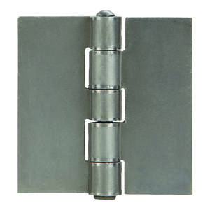 Ace  2 in. L Natural  Steel  Weldable Door Hinge  1 pk