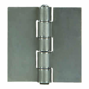 Ace  2 in. L Natural  Weldable Door Hinge  1 pk
